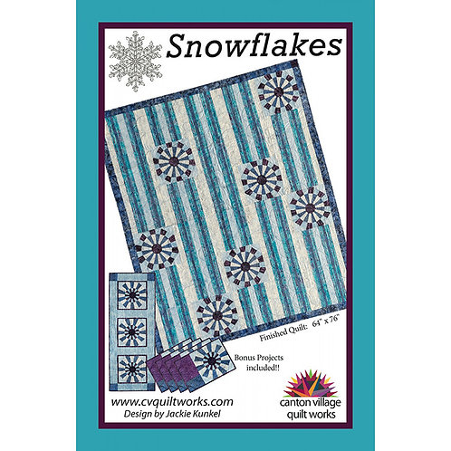 Snowflakes by Canton Village Quiltworks