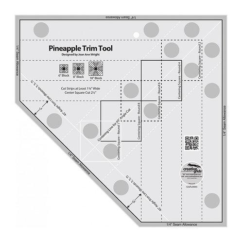 CGRJAW3-Creative Grids Pineapple Trim Tool Template