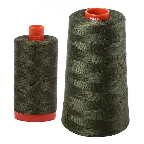Aurifil Cotton Thread 50wt Medium Green 5023