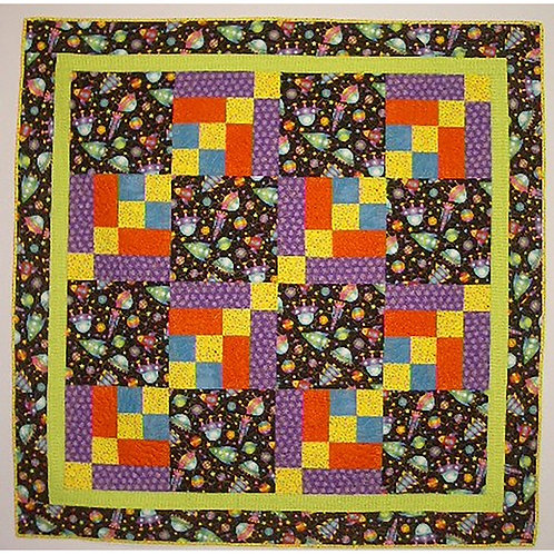 Outer Limits Quilt by BrendaPamiter