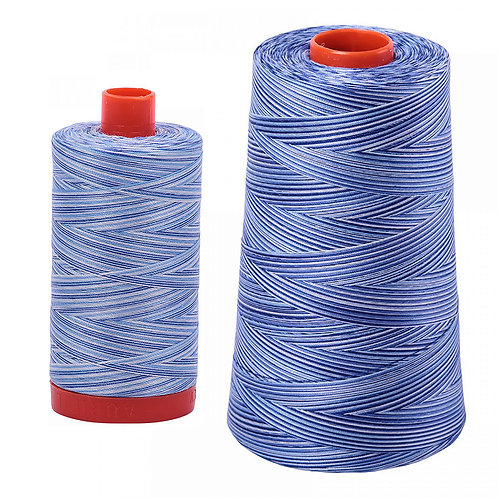 Aurifil Cotton Thread 50wt Variegated Storm at Sea 4655