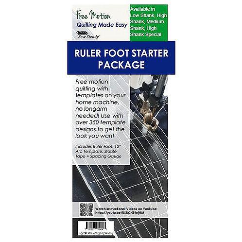 Ruler Foot Starter Package Medium Shank