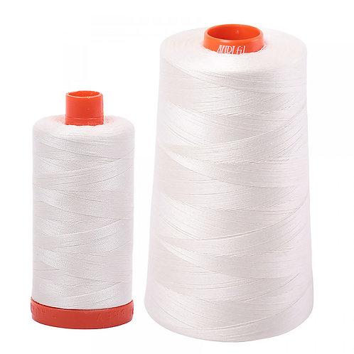 Aurifil Cotton Thread 50wt Chalk 2026