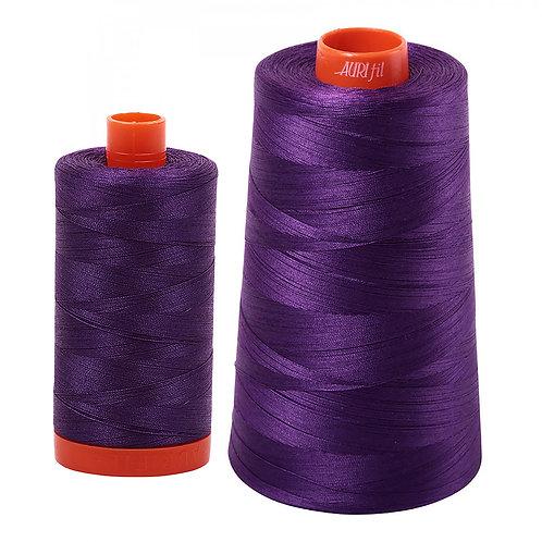 Aurifil Cotton Thread 50wt Medium Purple 2545