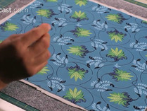 How to Thread Baste a Quilt