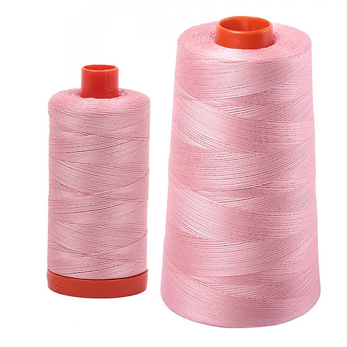 Aurifil Cotton Thread 50wt Light Peony 2437