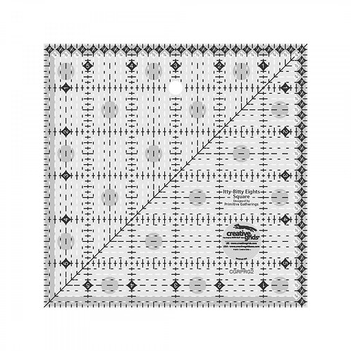 CGRPRG2-Creative Grids Itty-BItty Eights Square Ruler