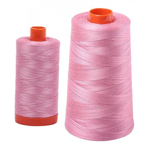 Aurifil Cotton Thread 50wt Antique Rose 2430