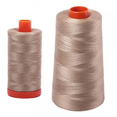 Aurifil Cotton Thread 50wt Linen 2325