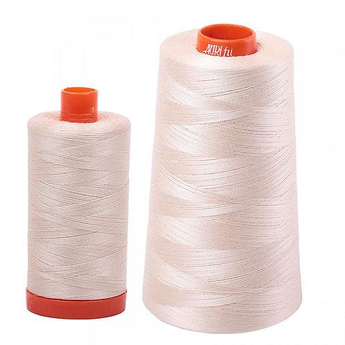 Aurifil Cotton Thread 50wt Sand 2000