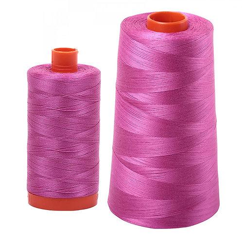 Aurifil Cotton Thread 50wt Light Magenta 2588
