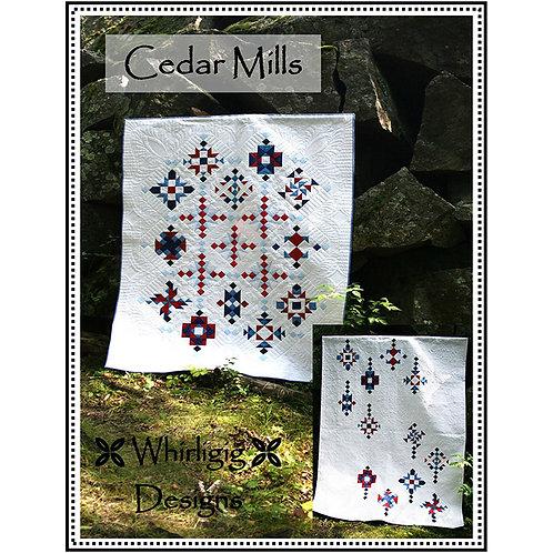 Cedar Mills Quilt by Whirligig Designs