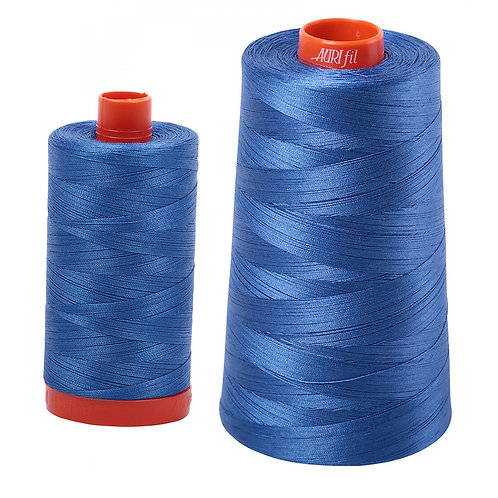 Aurifil Cotton Thread 50wt Peacock Blue 6738