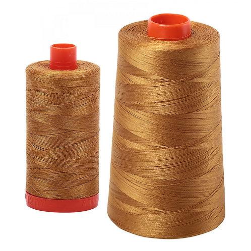 Aurifil Cotton Thread 50wt Brass 2975