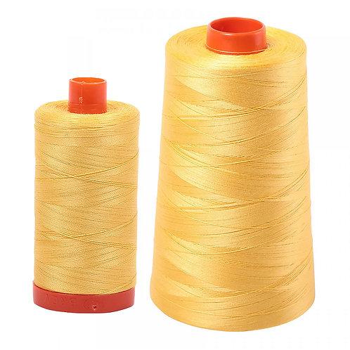 Aurifil Cotton Thread 50wt Pale Yellow 1135