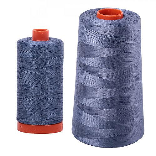Aurifil Cotton Thread 50wt Dark Grey Blue 1248