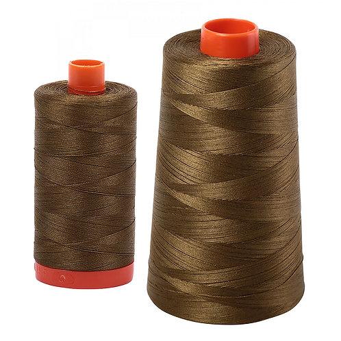 Aurifil Cotton Thread 50wt Dark Olive 4173