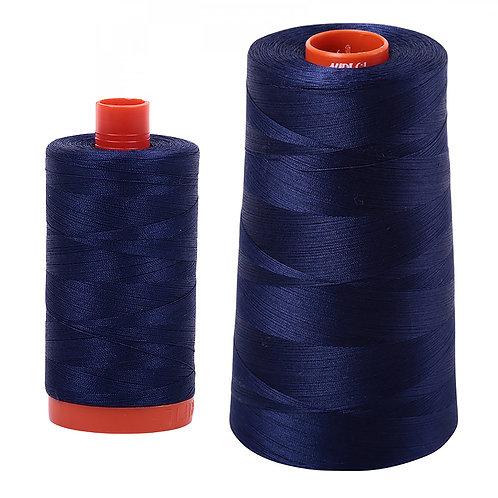 Aurifil Cotton Thread 50wt Midnight 2745