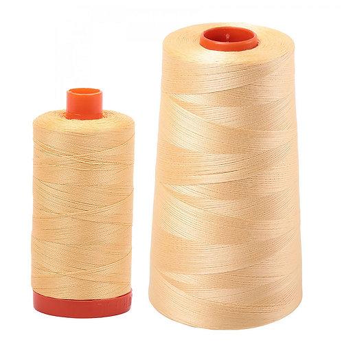Aurifil Cotton Thread 50wt Medium Butter 2130