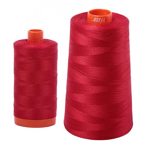 Aurifil Cotton Thread 50wt Red 2250