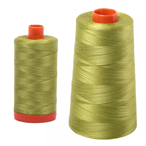 Aurifil Cotton Thread 50wt Light Leaf Green 1147