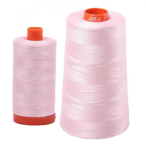 Aurifil Cotton Thread 50wt Pale Pink 2410
