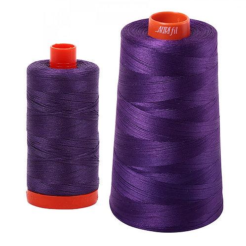 Aurifil Cotton Thread 50wt Dark Violet 2582