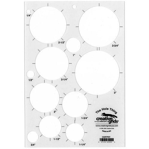 CGRTPHT-Creative Grids The Hole Thing Circle Template