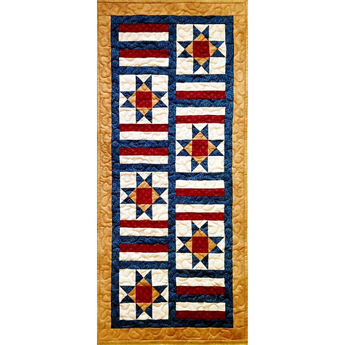 Land of Liberty Table Runner by Cathey Laird