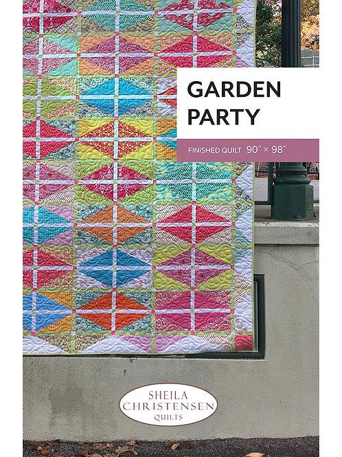 Garden Party Quilt by Sheila Christensen
