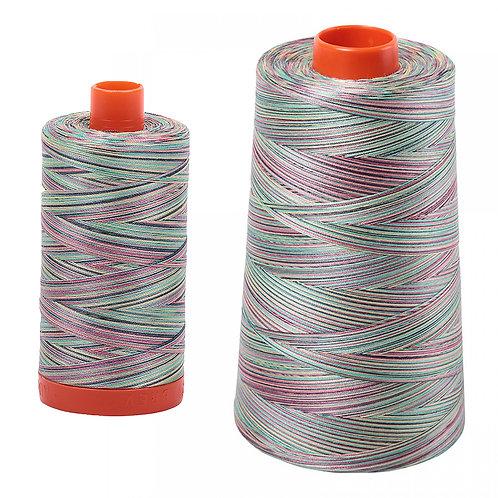 Aurifil Cotton Thread 50wt Variegated Marrakesh 3817