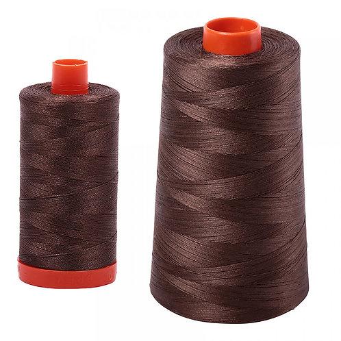 Aurifil Cotton Thread 50wt Bark 1140