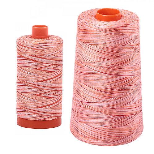 Aurifil Cotton Thread 50wt Variegated Mango Mist 4659