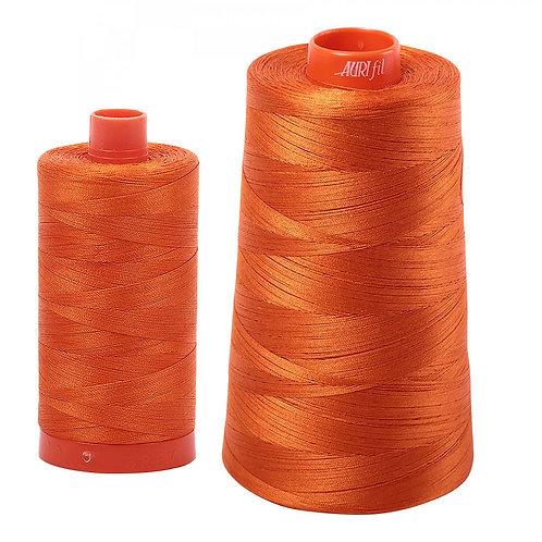 Aurifil Cotton Thread 50wt Orange 2235