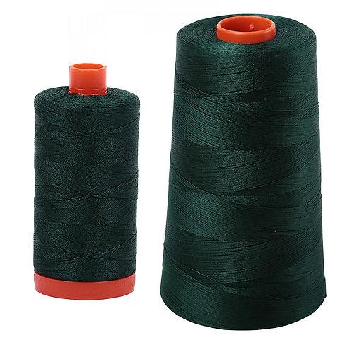 Aurifil Cotton Thread 50wt Forest Green 4026
