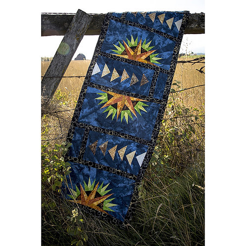 Farmhouse Window Table Runner by Judy and Judel Niemeyer