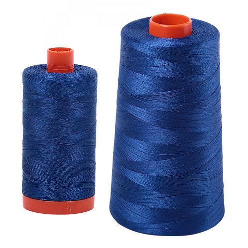 Aurifil Cotton Thread 50wt Dark Cobalt 2740