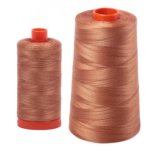 Aurifil Cotton Thread 50wt Light Chestnut 2330