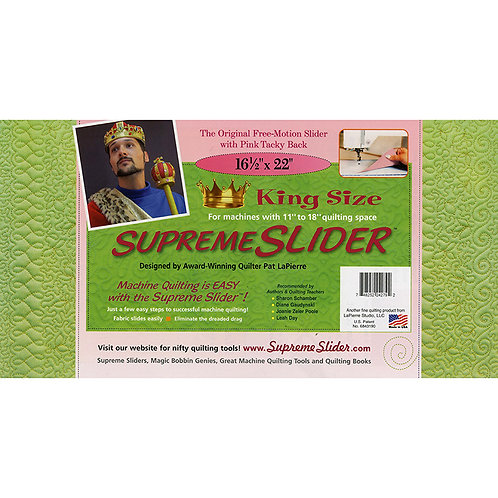Supreme Slider King Size for Machine Quilting  16-1/2in x 22in LaPierre