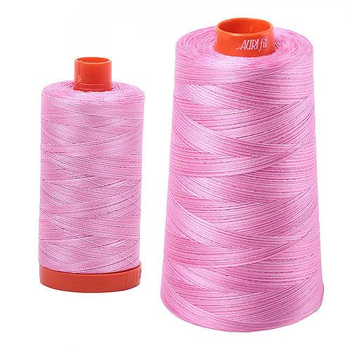Aurifil Cotton Thread 50wt Variegated Bubblegum 3660