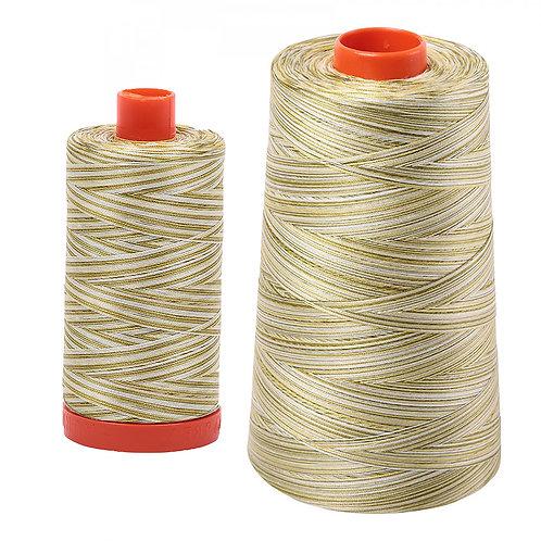 Aurifil Cotton Thread 50wt Variegated Spring Prairie 4653