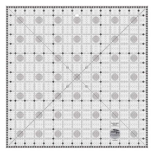 CGRPRG4-Creative Grids Charming Itty-BItty Eights Square XL Ruler