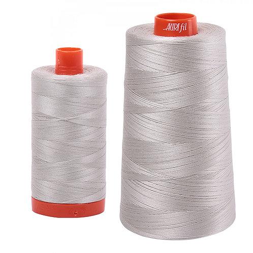 Aurifil Cotton Thread 50wt Moonshine 6724