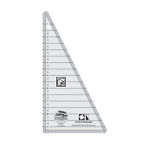 CGRTMT3-Creative Grids Quilt Ruler Perfect Rectangle Ruler