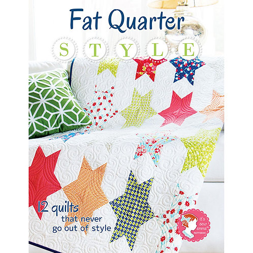 Fat Quarter Style Softcover - It's Sew Emma