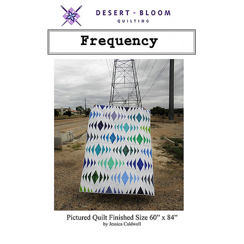 Frequency Quilt by Desert Bloom Quilting