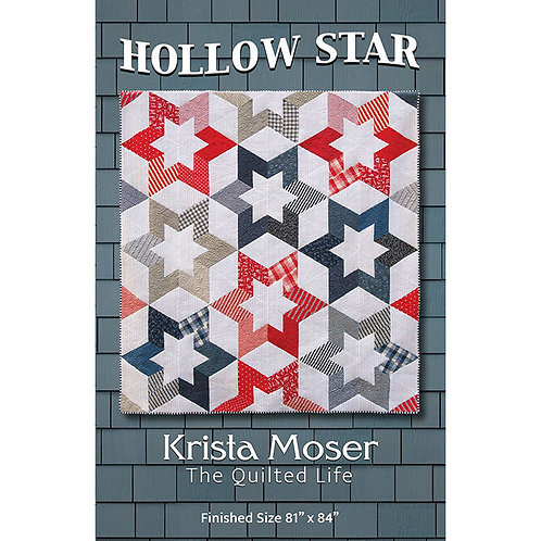 Hollow Star Quilt by The Quilted Life
