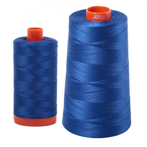 Aurifil Cotton Thread 50wt Medium Blue 2735