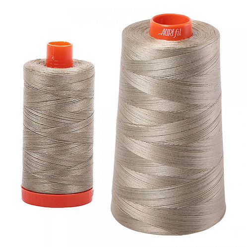 Aurifil Cotton Thread 50wt Light Khaki Green 2900