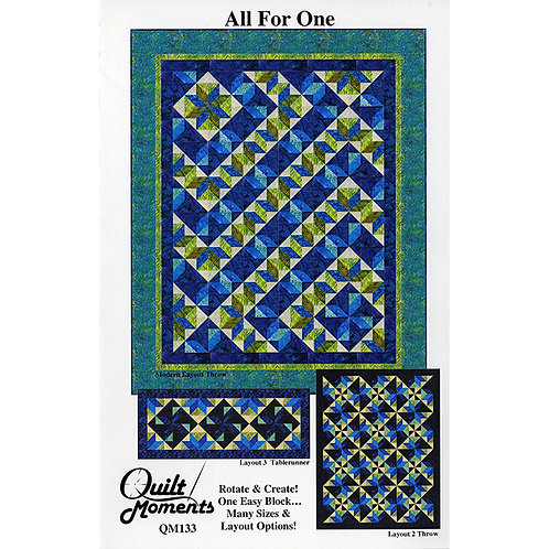 All For One by Quilt Moments